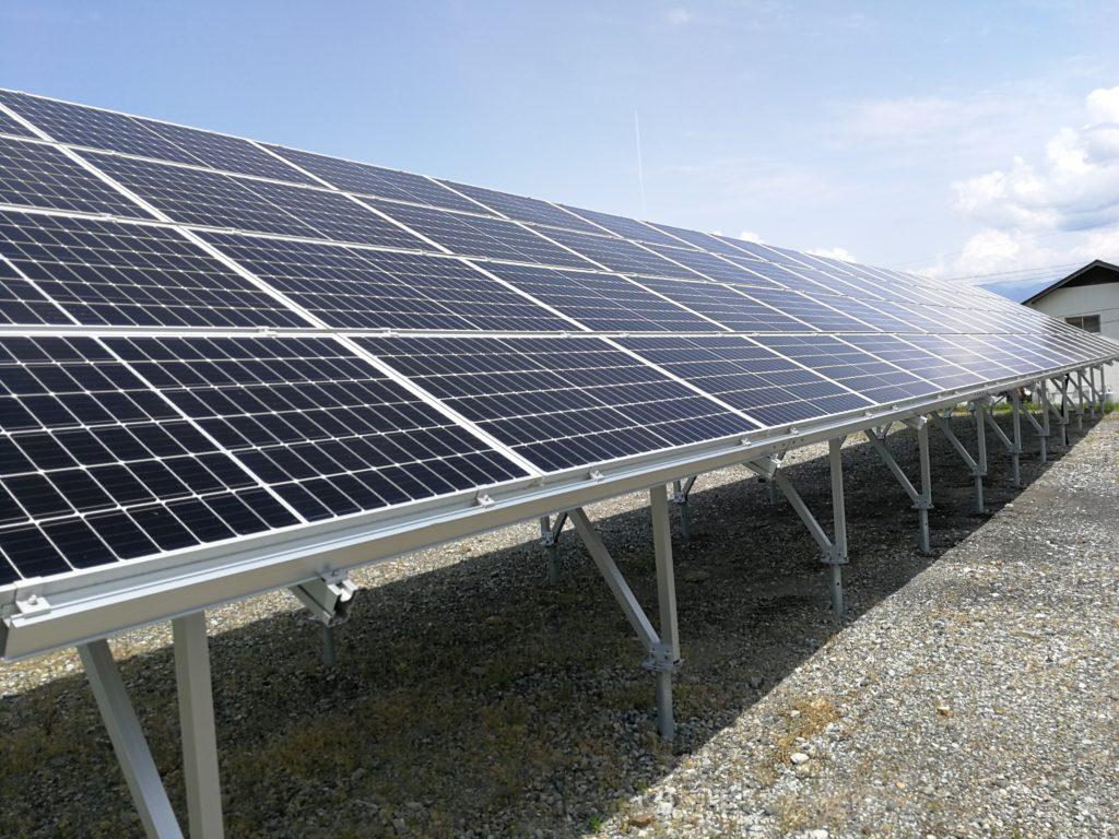 太陽光発電設備 野立て